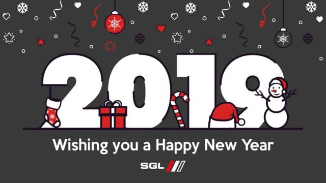 SGL Wishes You a Happy New Year 2019
